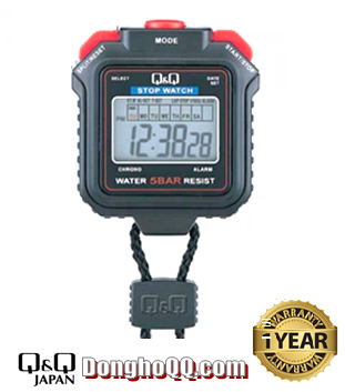 HS43J001Y, Đồng hồ bấm giây Q&Q HS43J001Y chính hãng