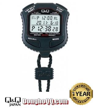 HS45J001Y, Đồng hồ bấm giây Q&Q HS45J001Y chính hãng