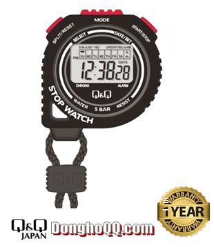 HS48J001Y, Đồng hồ bấm giây Q&Q HS48J001Y chính hãng