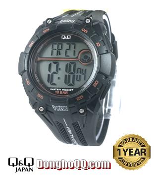 M121J001Y, Đồng hồ điện tử Q&Q M121J001Y (HẾT HÀNG)
