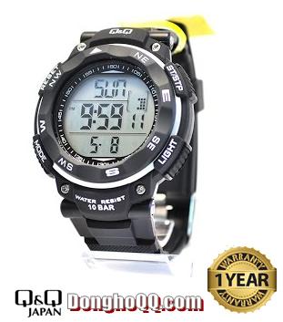 M124J002Y, Đồng hồ điện tử Q&Q M124J002Y chính hãng