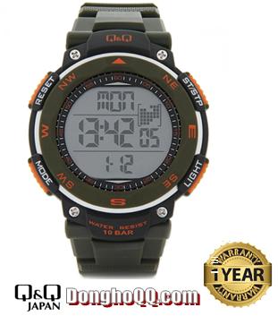 M124J003Y, Đồng hồ điện tử Q&Q M124J003Y chính hãng