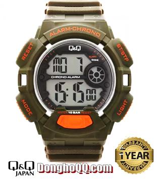 M132J002Y, Đồng hồ điện tử Q&Q M132J002Y chính hãng