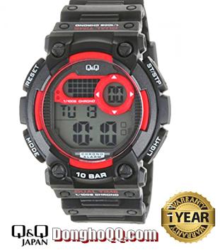 M141J001Y, Đồng hồ điện tử Q&Q M141J001Y chính hãng