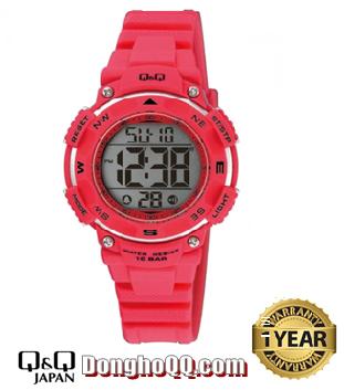 Đồng hồ điện tử Nữ Q&Q M149J004Y chính hãng (Máy Nhật)