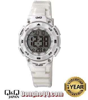 Đồng hồ điện tử Nữ Q&Q M149J005Y chính hãng (Máy Nhật)