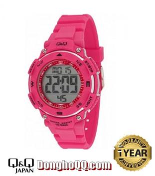Đồng hồ điện tử Nữ Q&Q M149J006Y chính hãng (Máy Nhật)