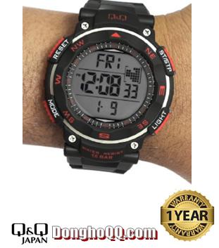M124J001Y, Đồng hồ điện tử Q&Q M124J001Y chính hãng
