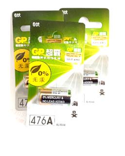 Pin GP 4LR44,A544,476A Super High Votage Alkaline 6V Batery chính hãng