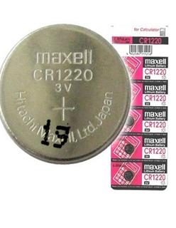 Pin 3v lithium Maxell CR1220 chính hãng Made in Japan