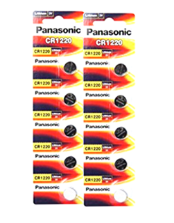 Pin 3v lithium Panasonic CR1220 chính hãng