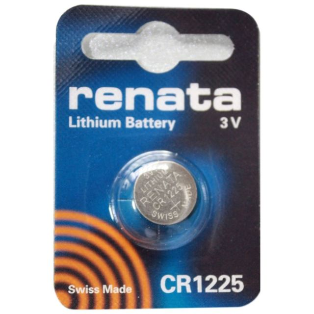 in 3v Lithium Renata CR1225 chính hãng Made in Swiss