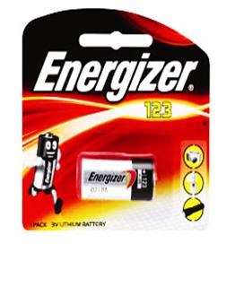 Pin 3v Lithium Energizer CR123A, CR17345 chính hãng Energizer USA-Made in China