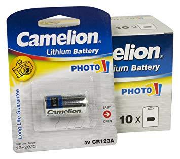 Pin Camelion CR123A-BP1 Photo Litthium 3V Chính hãng