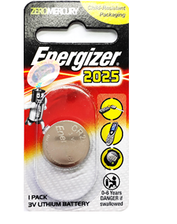 Pin 3v lithium Energizer CR2025 chính hãng