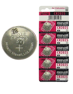 Pin 3v lithium Maxell CR2025 chính hãng Made in Japan