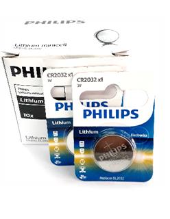 Pin lithium 3V Philips CR2032/ DL2032 chính hãng