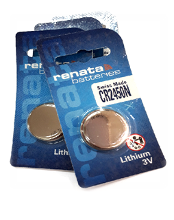 Pin 3v lithium Renata CR2450N Made in Swiss