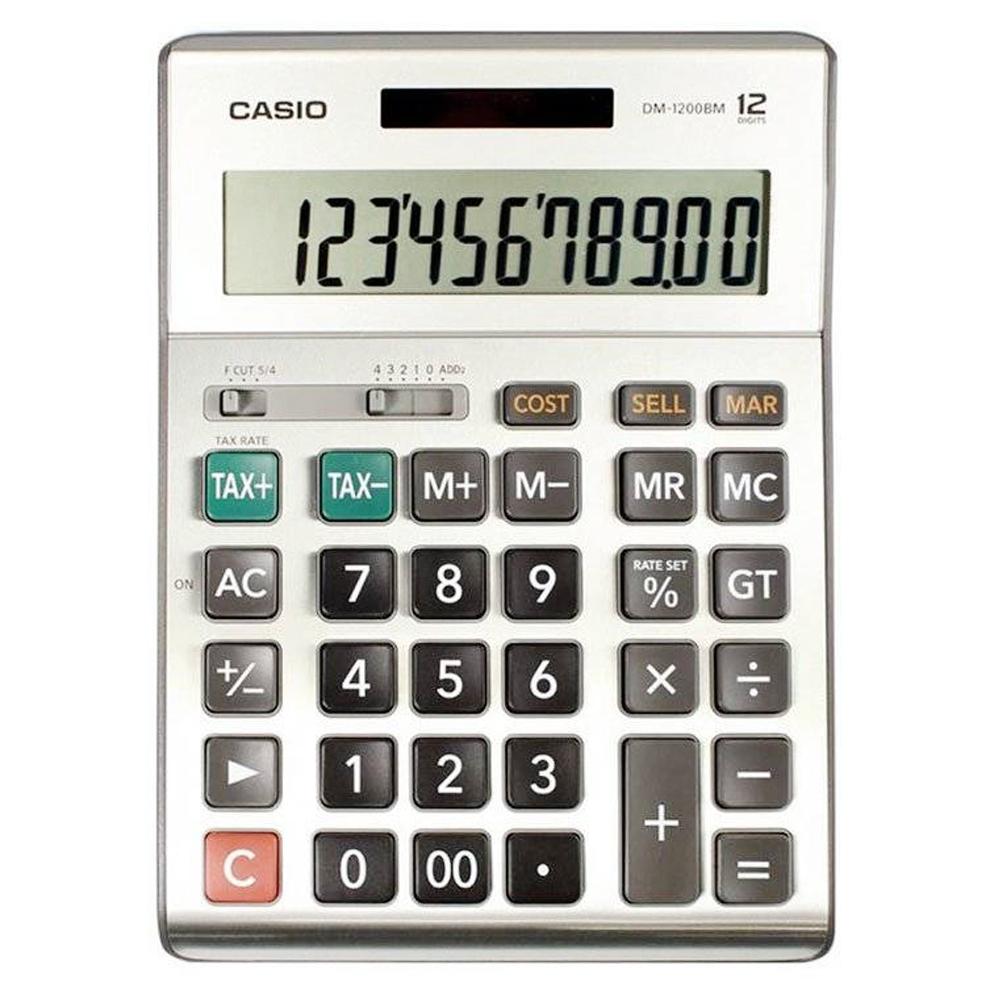 Máy tính Casio DM-1200BM chính hãng Casio Japan