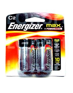 Pin trung C 1,5V Energizer Max E93 BP2/LR14 Max Power Alakline chính hãng