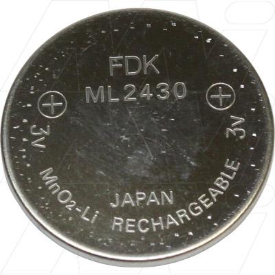 Pin FDK ML2430 - Pin sạc Lithium 3v chính hãng FDK Nhật