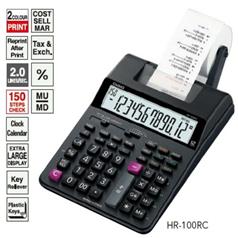 Máy tính tiền in ra bill giấy Casio HR-100RC chính hãng Casio Japan