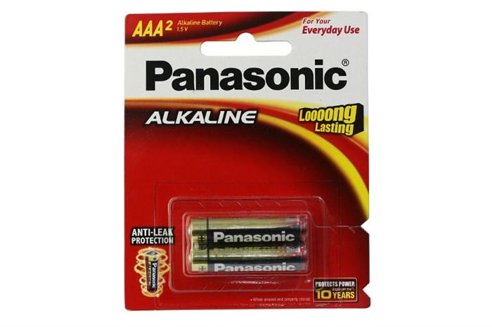 Pin AAA Panasonic LR03T/2B Alkaline 1.5V chính hãng Panasonic Made in Thailand