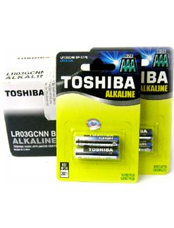 Toshiba LR03GCNN BP2; Pin AAA, Pin đũa AAA 1,5v Toshiba LR03GCNN BP2