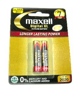 Pin Maxell Digital XL alkaline battery LR6(W)XL2B-AA-1.5V chính hãng Made in Indonesia