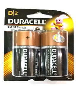 Pin đại D 1,5v Duracell LR20,MN1300/B2 Alkaline Duralock Last Longer chính hãng