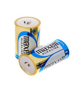 Pin Alkaline 1.5v Maxell LR20(GD)2B-Pin đại D 1.5v chính hãng Made in INdonesia (Vỉ 2viên)