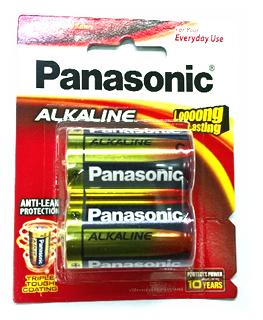 Pin đại D 1,5v thông dụng Panasonic LR20T/2B Longer Lasting Alkaline chính hãng Made in Japan