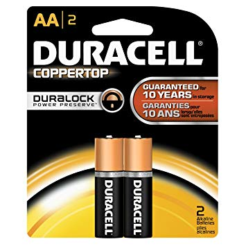 Pin tiều AA Duracell MN1500 Coppertop (Duralock) Alkaline 1.5V | HẾT HÀNG