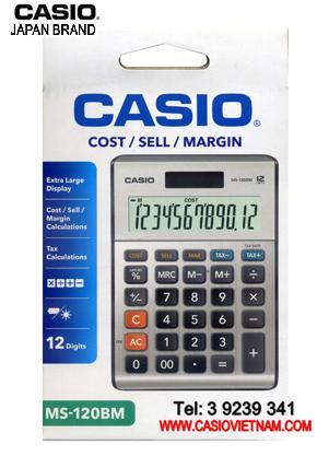 Máy tính tiền Casio MS-120BM chính hãng Casio Japan