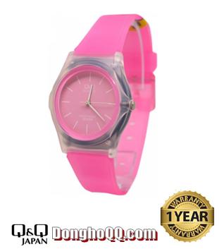 Đồng hồ đeo tay Nam-Nữ Q&Q VQ04J007Y chính hãng Citizen