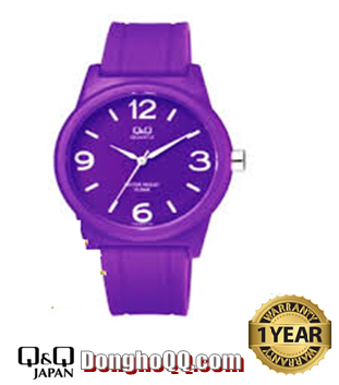 Đồng hồ đeo tay Nam-Nữ Q&Q VR315J015Y chính hãng Q&Q Citizen