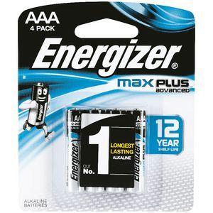 Pin AAA Energizer X92RP4T Max Plus 1.5v chính hãng (Mẫu mới)
