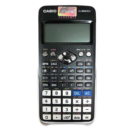 Casio FX-580VNX; Máy tính Casio FX-580VN X chính hãng (được mang vào phòng thi) (Bảo hành 5 năm)