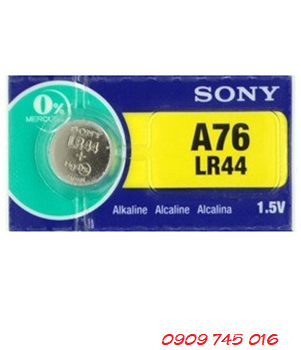 Sony A76-LR44, Pin đồng xu 3v lithium Sony A76-LR44 Made in Indonesia