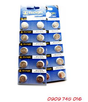 Tianqiu AG13, Pin cúc áo 1.5v Alakline Tianqiu AG13 (Vỉ 10viên)