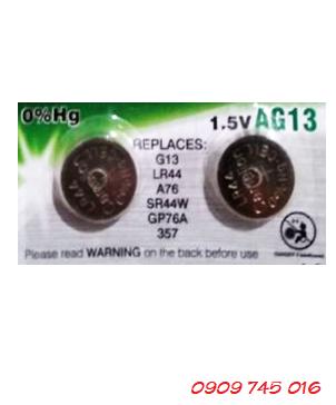 Camelion AG13, Pin cúc áo 1.55v Alkaline Camelion AG13 chính hãng (vỉ 10 viên)