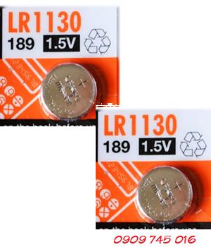Maxell LR1130; Pin Maxell LR1130-189-AG10 Alkaline 1,5V chính hãng